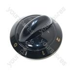 Tricity Bendix SIE520GR Black Hob Control Knob