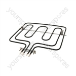 Zanussi 5212BU-D 2800 Watt Dual Grill Element