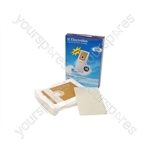 Electrolux Vacuum Paper Bag and Filter Pack (E82N)