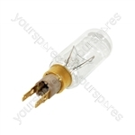 Whirlpool American Style Fridge Freezer 40W T-Click Lamp Bulb