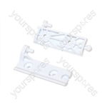 Whirlpool Freezer Compartment Door Hinge Kit