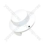 Whirlpool White Microwave Control Knob