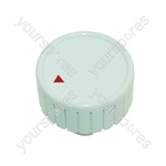 Whirlpool White Washing Machine Control Knob