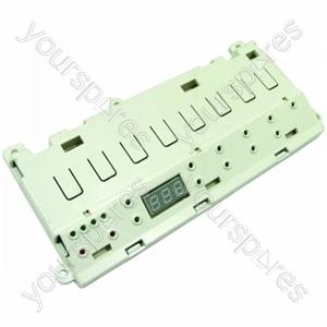 Electrolux Dishwasher Display Card
