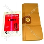 Electrolux Paper Bag - Pack of 5 (E72B)