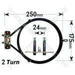 Bosch HBN205TGB05 2500 Watt Circular Fan Oven Element