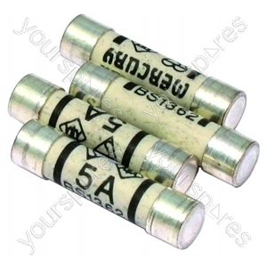 Fuse 5 Amp Pack Of 4