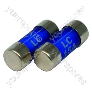 Fuse Cartridge 15 Amp Pack Of 2