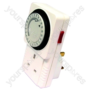 24 Hour Timer Plug In 13 Amp