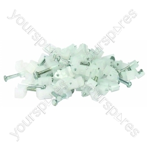 Telephone Cable Clips Pack Of 50