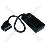 3 Way Scart Box & Lead
