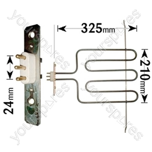 Philips Grill Element 2000w