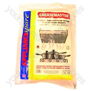 Cooker Hood Grease Master Foam Filter (cut to size)