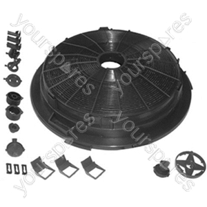 Universal Round Cooker Hood Carbon Filter