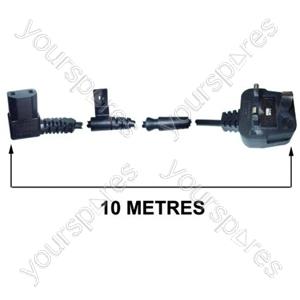 Flex 10 Metre 0.75mm 2 Core Grey