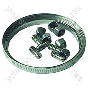 Hose Clip Coil Kit 2mtr Band & 6 Clips