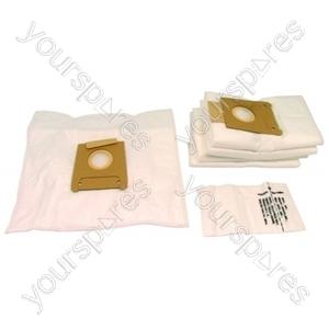 Bosch Type K Microfibre Vacuum Cleaner Dust Bags