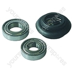 Hoover A3006 washing machine bearing Kit Drum 800