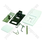 Hotpoint A636 Door Handle Kit White