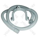 John Lewis Universal Washing Machine & Dishwasher Drain Hose 19mm and 22mm Ends
