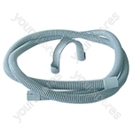 Drain Hose 2.5 Mtr 22mm Ends