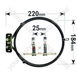 Replacement Philips Fan Oven Cooker Heating Element (2500w) (2 Turns)