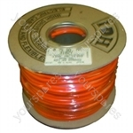 Flex 100 Metre 0.75mm 2 Core Orange