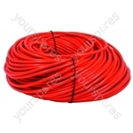 Flex 1.5mm 2 Core Orange, 100 metre length