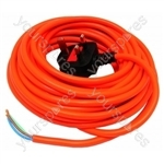 Flex 10 Metre 1mm 3 Core Free End Orange