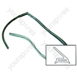 Electrolux 2558 oven door seal Main Oven