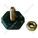 Levelling Foot 10mm Thread