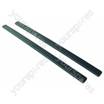 Hotpoint 9310 Side Trims Brown