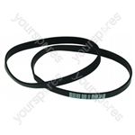 Hoover U2462 Turbo 2/3 Vacuum Belts