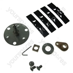 Tumble Dryer Drum Bearing Repair Kit Hotpoint