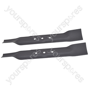 2 x Bosch Replacement Metal Lawnmower Blades Top Quality