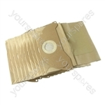 Pack of 10 Karcher Vacuum Cleaner Dust Paper Bags