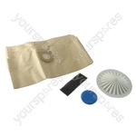 VAX Vacuum Cleaner Dust Paper Bags x 10 and Filter Set