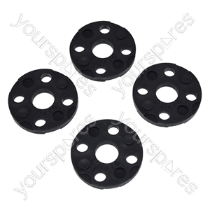 Flymo Lawnmower Spacer Washer - Pack of 4 Equivalent to FLY017 & FL182