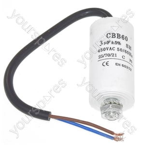 Panasonic 3UF Capacitor with 19cm Cable Connectors