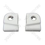 Hotpoint WM61 Washing Machine Tumble Dryer Door Hinge Guides Late