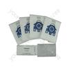 Miele GN Hyclean Pack of 4 Microfibre Vacuum Cleaner Dust Bags