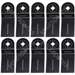Multi Tool Blades 35mm Wide High Carbon Steel HCS  For Wood And Plastic 10 Pack