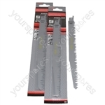 Reciprocating Sabre Saw Blades R1021L  240mm Long High Carbon Steel HCS 10 Pack