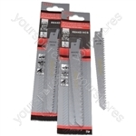 Reciprocating Sabre Saw Blades R644D 150mm Long High Carbon Steel HCS 10 Pack