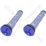 Dyson DC58 DC59 DC61 DC62 V6 V7 V8 Animal Vacuum Cleaner Washable Pre Motor Stick Filters x 2