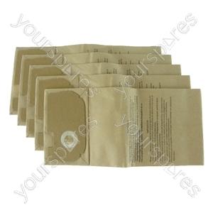 Electrolux Powerline Widetrack 1360 Vacuum Cleaner Paper Dust Bags