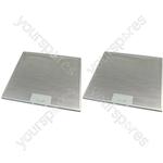 Meneghetti 2 x Cooker Hood Metal Grease Filter 320mm x 320mm