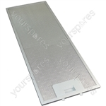 Meneghetti Cooker Hood Metal Grease Filter 175mm x 445mm