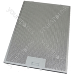 Rangemaster Cooker Hood Metal Grease Filter 265mm x 395mm