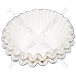 Universal Coffee Machine Filter Papers 200mm Pack of 100
